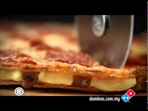 Pizza: Domino's Malaysia Cheese Burst Crust