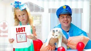 Настя и полицейский расследуют тайную жизнь домашних животных
