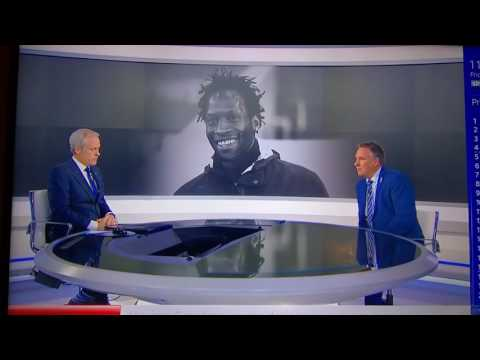 Paul Merson giving an amazing tribute to Ugo