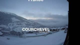 snowboarding in courchevel w marc seb and friends