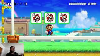Ni Ludu Super Mario Maker 2 en Esperanto