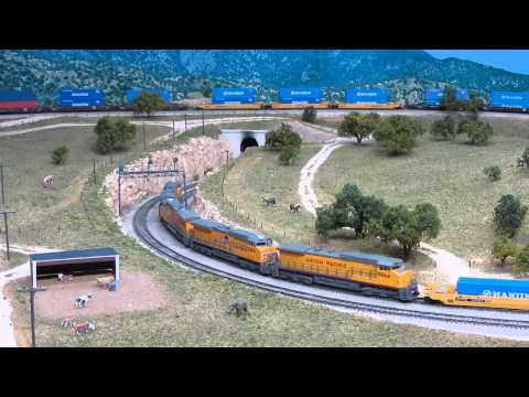 Tehachapi Loop Stack Train in N scale
