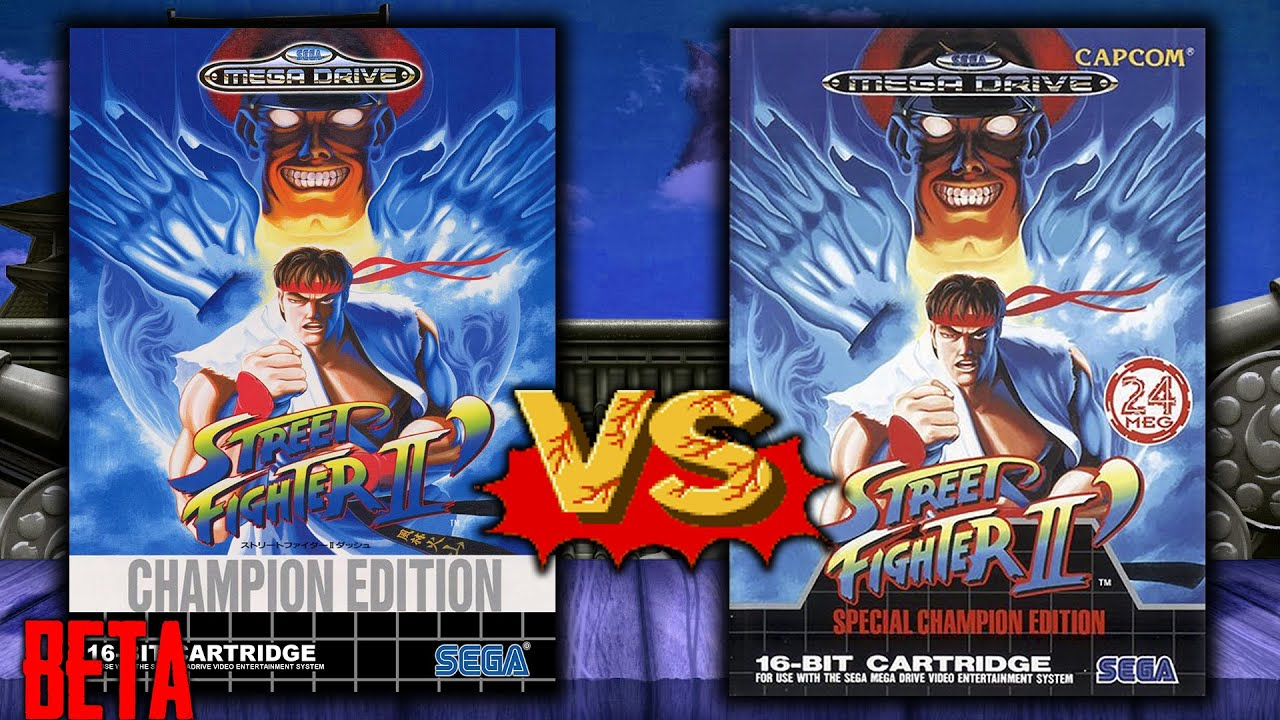 Street Fighter II Special Champion Edition: Beta vs Final