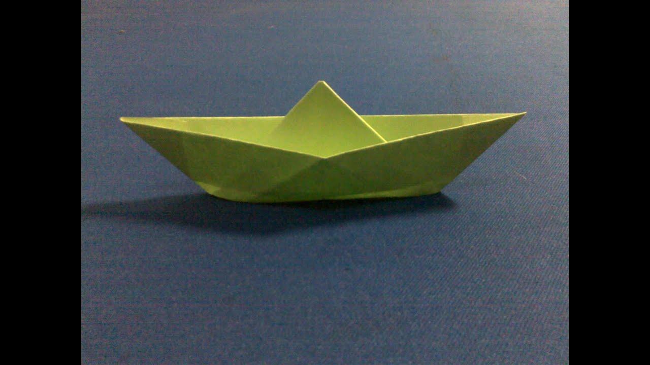 Perahu Kertas | Melipat Perahu Kertas - YouTube