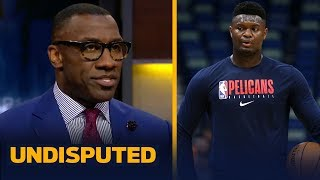 Pelicans' priority this season is to keep Zion Williamson healthy— Shannon Sharpe | NBA | UNDISPUTED