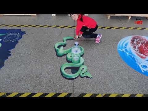 Amazing Best of 3D Street Art Illusions