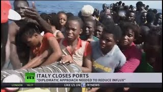 Troubled Waters: Italian govt closes port to migrants as influx continues thumbnail