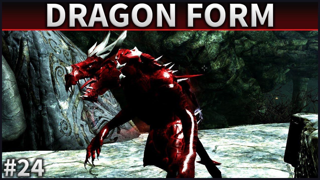 Skyrim Mod Spotlight | #24 | Dragon Form - YouTube