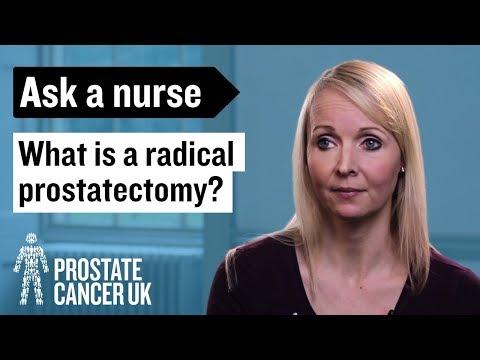 Surgery Radical Prostatectomy Prostate Cancer Uk