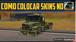 Aprenda passo a passo como colocar skins no grand truck Simulator