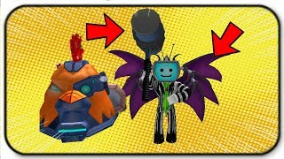 Mythical Items and The Boss Alien Chicken Trolls Me Roblox Egg Farm Simulator