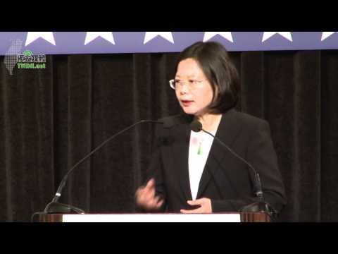 蔡英文出席美國商會 2011年度會員大會