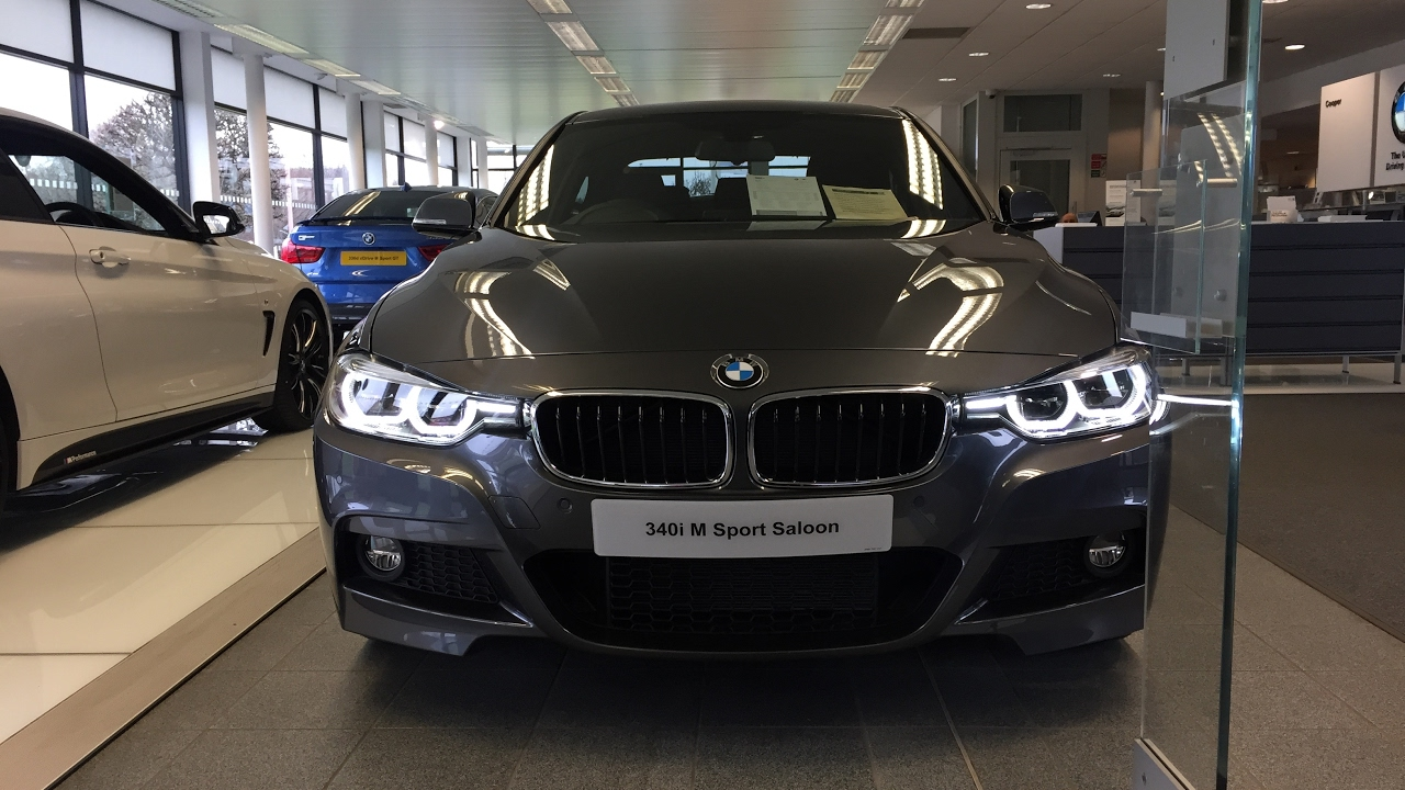 2017 bmw 340i saloon m sport exterior and interior review youtube. Black Bedroom Furniture Sets. Home Design Ideas