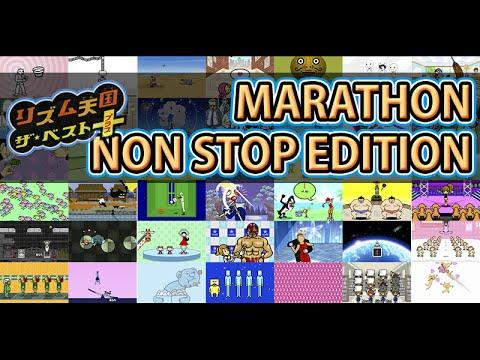 [60fps] Rhythm Heaven Megamix (JP Ver) - Non Stop Marathon
