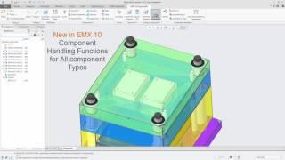 Creo Parametric - Expert Moldbase Extension 10.0 - Improved Component Handling