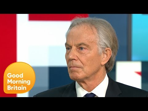 Tony Blair Defends Wanting to Have a Second Referendum | Good Morning Britain