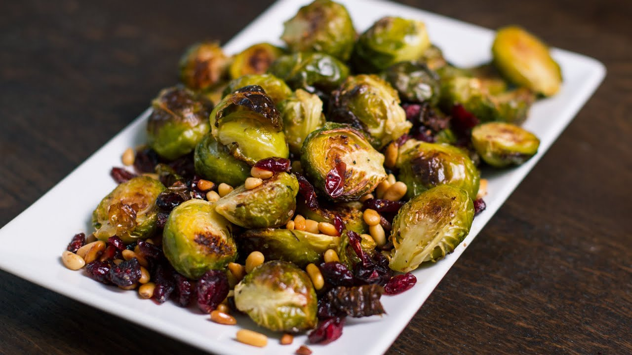 Roasted Brussels Sprouts Recipe Youtube