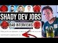 Shady Companies | Jr. Developers #grindreel #roadto250k