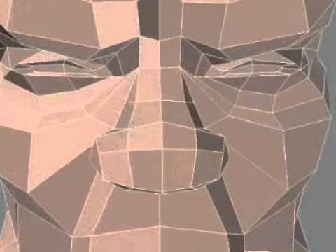tutorial dasar pembuatan sketsa wajah 3D - YouTube