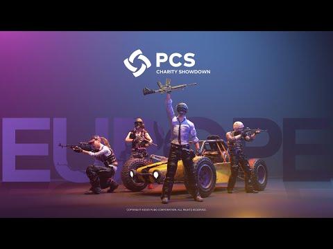 PCS Europe Charity Showdown • Group A/B • PUBG Continental Series