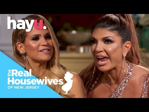 Teresa Throws Andy's Notes In Rage At Jackie | Season 9 | Real Housewives Of New Jersey