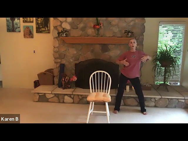 SJCCtv: Chair Yoga with Karen (Sept. 23)