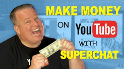 How to Make Money on YouTube with Super Chat & Live Streaming!