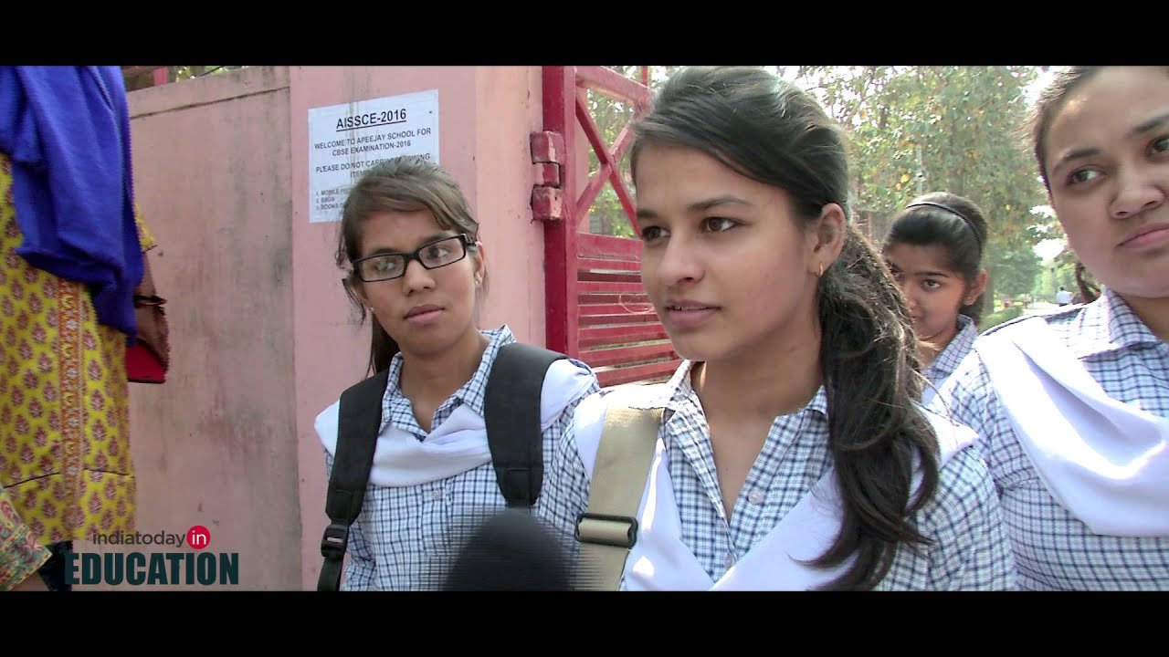 CBSE Class 12 exam: Student react to History paper - YouTube