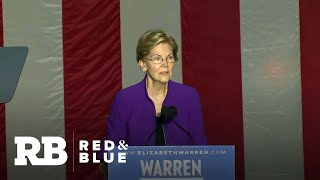 Elizabeth Warren: Democrats can't choose a candidate we don't believe in