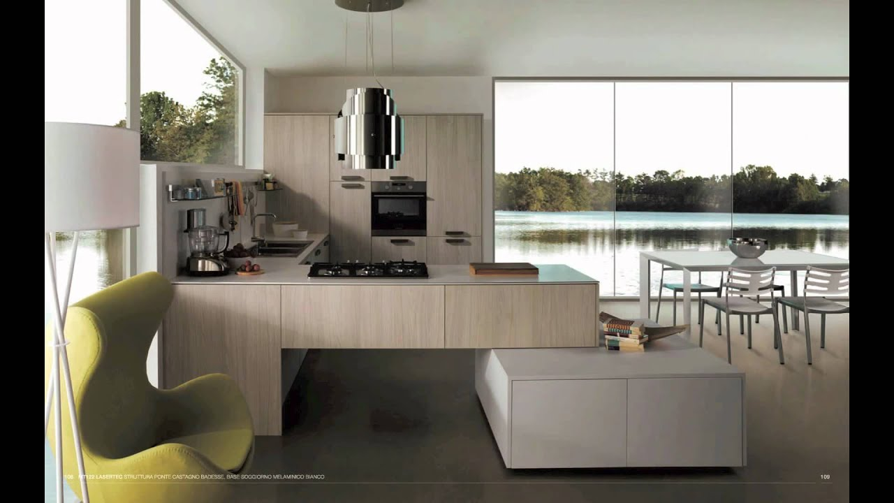 Id e photo cuisine moderne youtube - Idee deco cuisine ikea ...