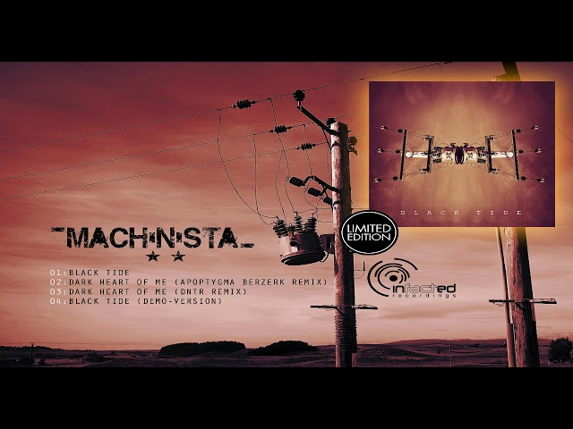 PRE-ORDER - MACHINISTA - BLACK TIDE [CD-MAXI]