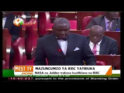 Mazungumzo ya IEBC yatibuka
