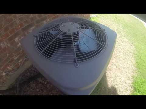 First Startup of the 2007 Guardian Central Air Conditioner for 2017!