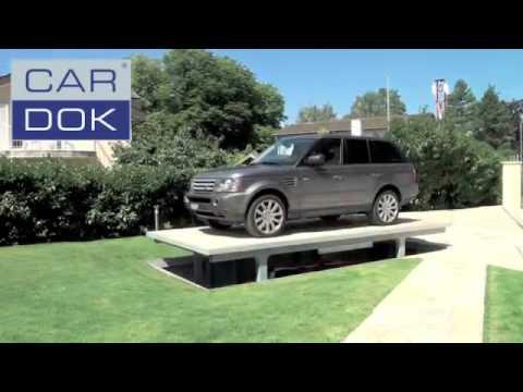 GarageTek - Удвойте ваше место для парковки машины с помощью автомобильного лифта Cardok (видео)