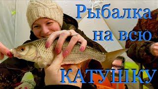 Рыбалка на всю катушку Якутия река Марха