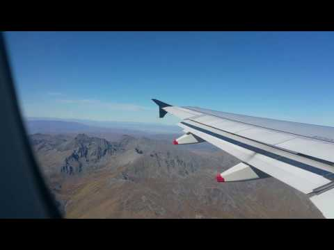 Take off at Queenstown Airport