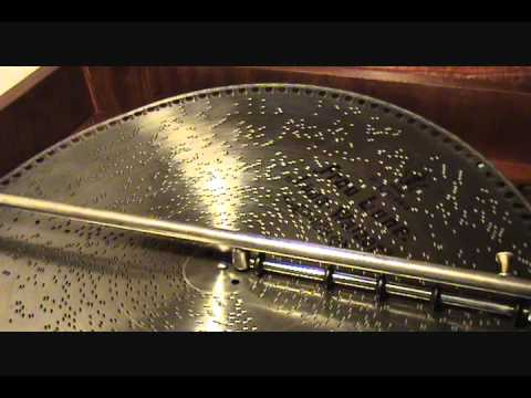 1899 Luna Waltz Played On Mira 18 12 inch Concert Grand Console Music Box