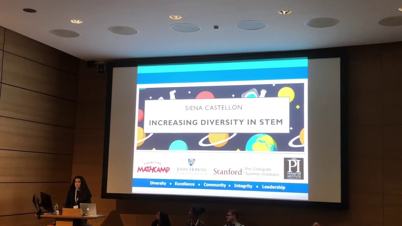 SpotOn Conference 2018 -   Siena Castellon's talk on Diversity in Science