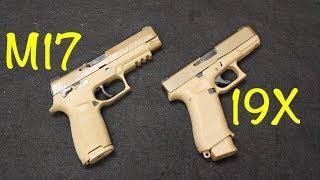 Sig P320 M17 vs Glock 19X