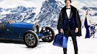 """Bugatti Lifestyle -- Introducing the """"EB - ETTORE BUGATTI COLLECTION"""" -- Fall Winter 2014-2015"""