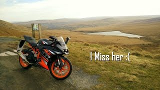 KTM RC 125 0-60mph Attempt ish Before She was Stolen :(