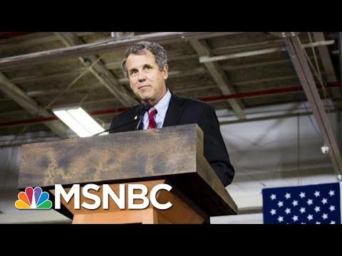 In Surprise Move, Senator Sherrod Brown Decides Not To Run For President | Andrea Mitchell | MSNBC