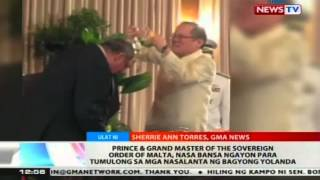Prince & Grand Master of the Sovereign Order of Malta, nasa bansa
