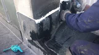 How to seal a parapet wall with EPDM