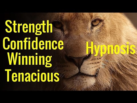 Hypnosis: Confidence, Tenacious,  Winning Mindset,  the Lion, the Champion Mind Programming