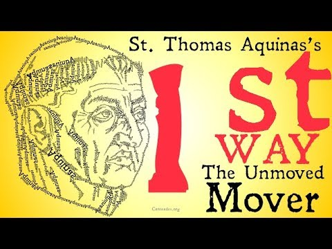 The Unmoved Mover (Aquinas's First Way)