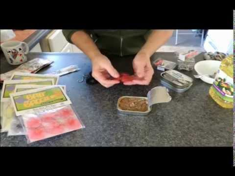Bait Baggies  How To Pack Sardine Baits With Crazy Cob