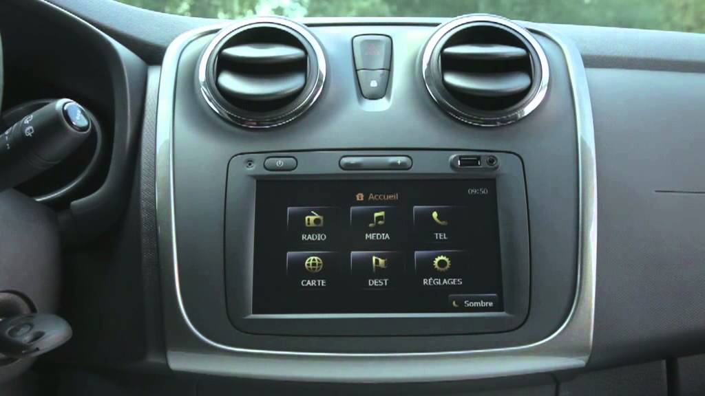 New Dacia Sandero Interior - YouTube