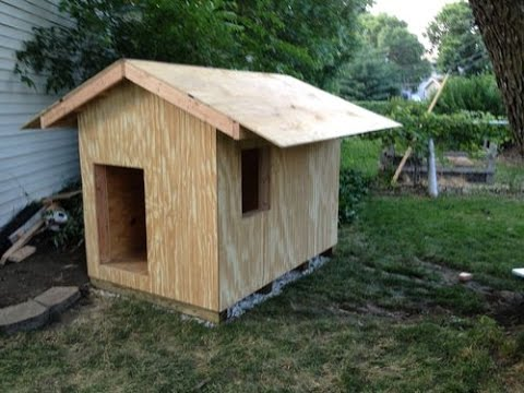 How To Make Wooden Dog House Steb By Step Youtube