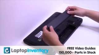toshiba satellite l850 c850 battery replacement   power laptop notebook install guide replace